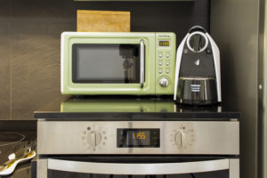 Microwave oven and coffe maker