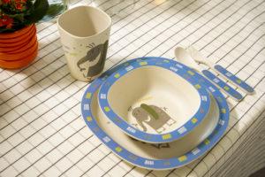 Dish set for children